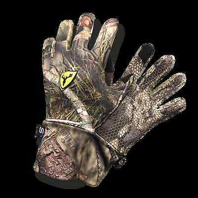 ScentBlocker Men's Trinity Glove with Text Touch Mossy Oak Country XL/2XL GWTCXL