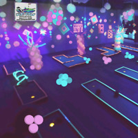 Jeux gonflables et Mini Golf Mobile ⛳GLOW-IN-THE-DARK