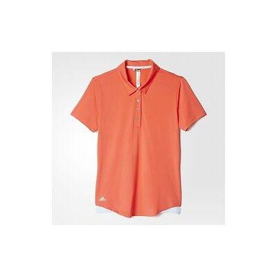 Adidas Mujer Climaslite Essentials 3 Rayas Polo (S) AE5297