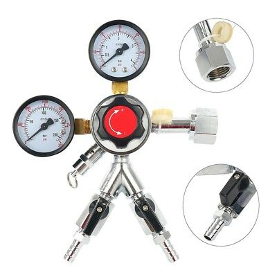 Regulator Co2 Dual Gauge Heavy Duty For Draft Beer Keg Or Bulk Soda Carbonation