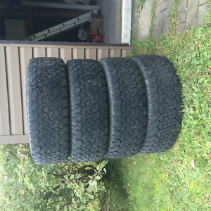 4 tires All-Terrain Lt265/65R18