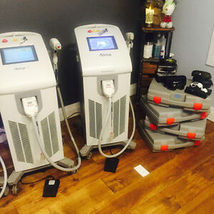 "SOPRANO XL or ICE  LASER HAIR REMOVAL MACHINE RENTAL""Pain Free"""