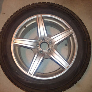 MERCEDES GL ORIGINAL WINTER TIRES and RIM PACKAGE