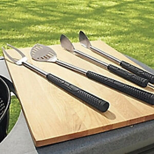 Stainless Steel BBQ Utensils - Shaped like Golf Clubs