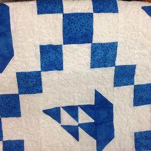"""Sail Away"" baby quilt. Kingston Kingston Area image 9"