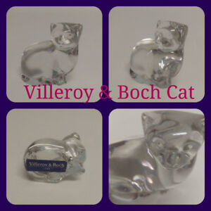 Cat- Villeroy & Boch figurine . Signed with label
