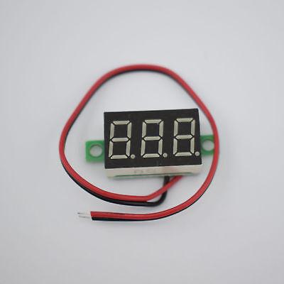 10pcs Dsn-dvml-368-2 Two Wire Voltmeter 0.36 Inch Dc4.5v-30v Dc Voltmeterred