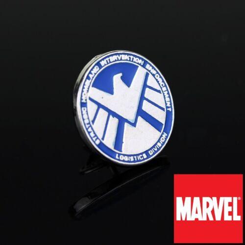Agents of SHIELD S.H.I.E.L.D logo Metal hat Pin hat pin cap cosplay marvel comic