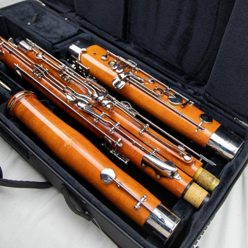 Fox Renard Artist Model 220 Wood Bassoon, Overhauled,*CTC*Bocal+High D & E Keys!