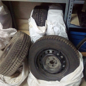 Used Winter Tires with Rims - Michelin X-Ice 195/65 R15
