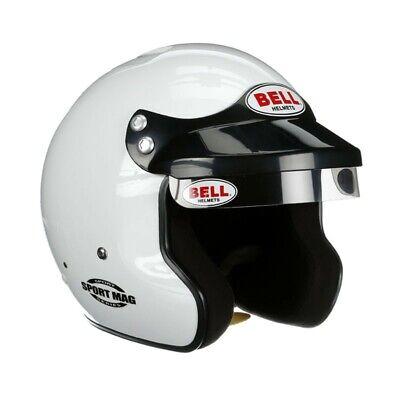 BELL HELMETS Small White Snell SA2015 Sport Mag Sport Series Helmet P/N 1426001
