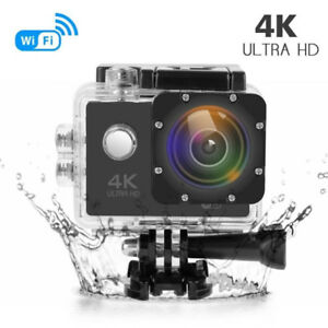 NEW 4K WATERPROOF ACTON CAMERA GOPRO STYLE