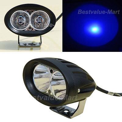 Blue Led Spotlight (20W LED Forklift Truck Blue Warning Lamp Safety Working Spot Light 10-48V)