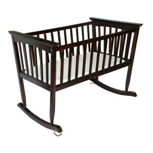 Beautiful Cradle with Organic Mattress