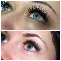 2-4D Volume Eyelash Extensions