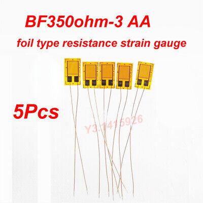 5pc Bf350-3aa 350 Ohm Metal Foil High-precision Pressure Resistance Strain Gauge