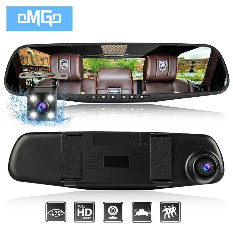 Global Technology - Dash-Cam/Rear-Cam Smart Mirror Amazing p