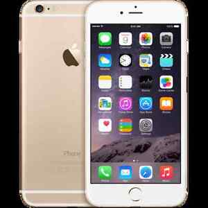 iphone 6+ 5.5 inch 16gb gold with otterbox defender