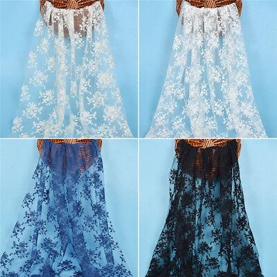 Nähen Kleid Stoffe Weiß Schwarz CHIC DIY Hochzeit Brautkleid Lace mesh Dekostoff