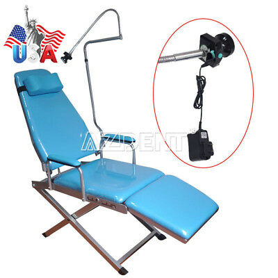 Us Dental Portable Simple Type Folding Chair With Rechargeable Led Light Gm-c004