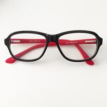 Black & Red Glasses / Eye Frame - VERY GOOD CONDITION! Melbourne CBD Melbourne City Preview