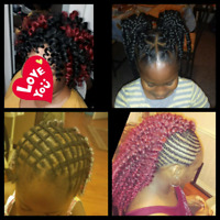 braid, weave, crochet and wigs etc.