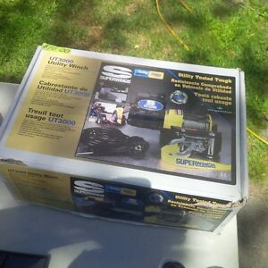 NEW NEVER USED SUPER WINCH KITUT3000--WITH 3000 LB PULLING POWER