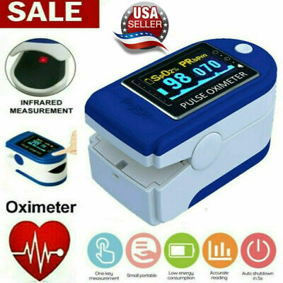 Pulse Oximeter Blood Oxygen Saturation Spo2 Heart Rate O2 Patient Monitor Fda Ce