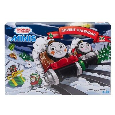 THOMAS & FRIENDS MINIS 2019 ADVENT CALENDAR *DISTRESSED PKG
