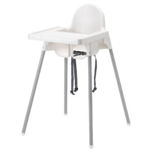 IKEA antilop chaise haute bébé - baby high feeding chair