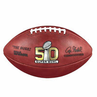 Authentic Super Bowl 50 NFL Game Ball