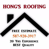 """BEST PROFESSIONAL ROOFING"""" HONG'S ROOFING"""""""