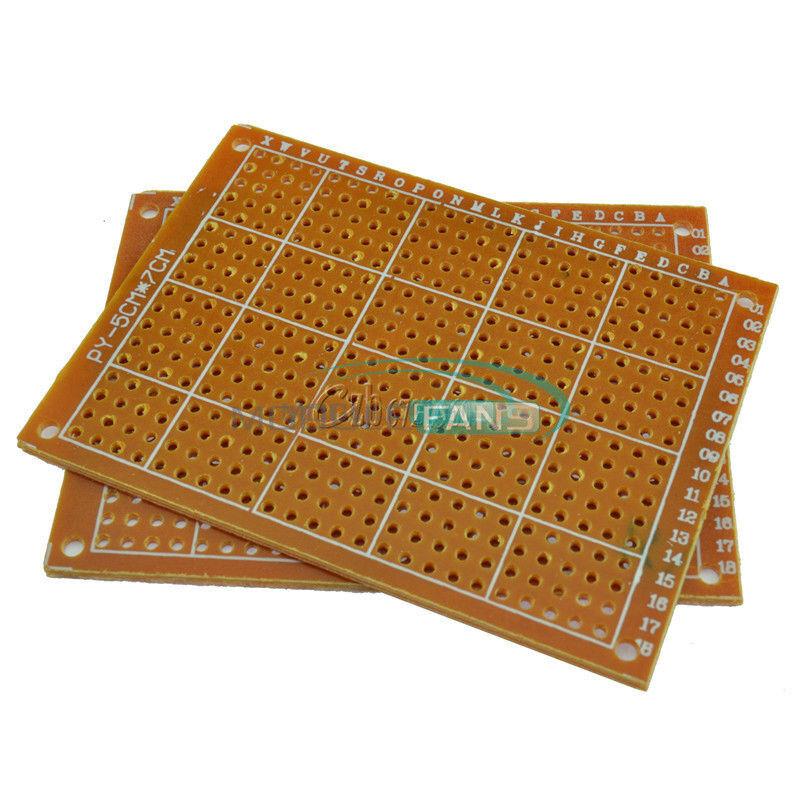5Pcs 9 x 15 cm DIY Prototype Paper PCB fr4 Universal Board Good quality