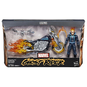 Marvel Legends Ghost Rider with Flame Cycle  6 inch
