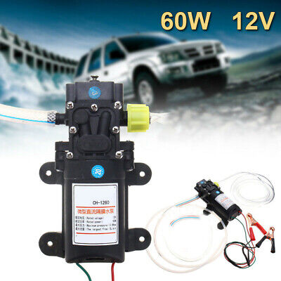 Dc 12v Electric Diesel Oil Fuel Transfer Extractor Pump Motor Scavenge Suction