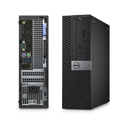 Computer Games - Cheap Fast Dell OptiPlex 5040 Computer PC Core i5 6th Gen 8GB RAM 500GB HDD SFF