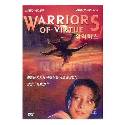 Warriors of Virtue (1997) New Sealed DVD - Angus Macfadyen