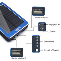 Solar Power Bank - Heavy duty for phones & tablets