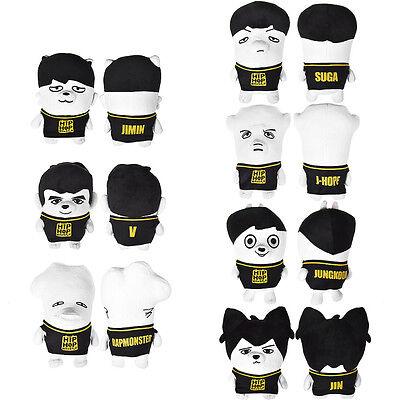 KPOP BTS Plush Doll Hiphop Monster Bangtan Boys JIMIN V JUNGKOOK JIN Stuffed Toy