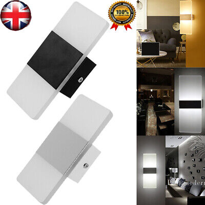 Modern LED Wall Light Up Down Cube Sconce Lighting Lamp Fixture Mount Room Decor](Light Up Cubes)