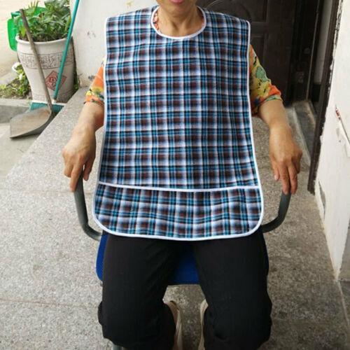 Erwachsenenlatz Esslatz Erwachsene Essschürze  Lätzchen Ess Schutz Senioren