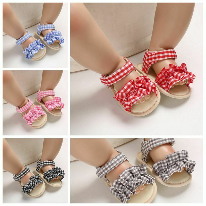 Summer shoes soft bottom breathable sandals for 0-1 years old female baby