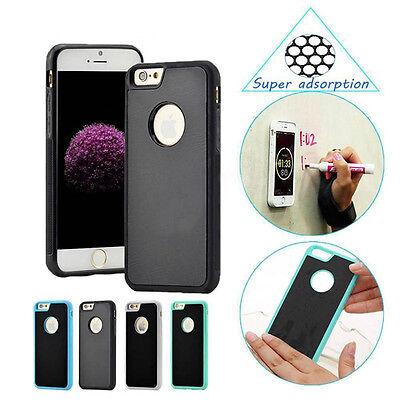 Anti-Gravity Selfie Sticky Nano Magnetic Case Cover For Apple iPhone 8 6S 7 Plus