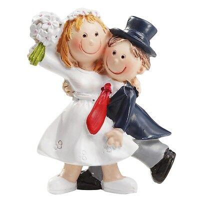 aar Mini Klein 5,5 cm Lustige Hochzeit Tortenfigur  Figuren (Lustiges Paar)