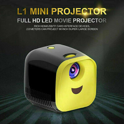 Mini Pocket 1080P Home Theater Cinema USB HDMI AV SD Portable HD LED Projector
