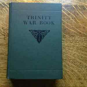 Trinity War Book by Oliver Hezzelwood