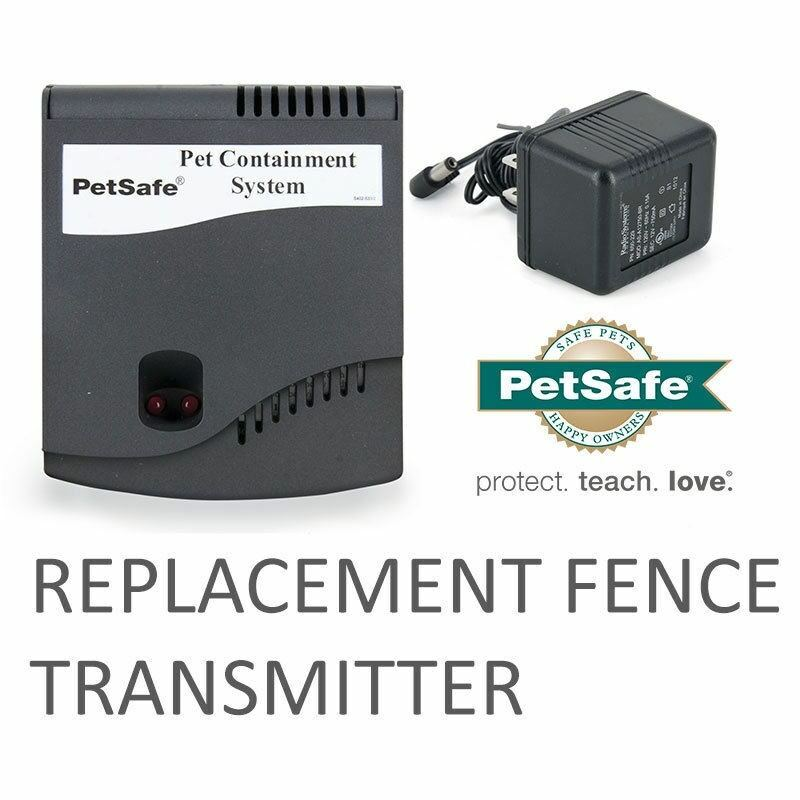 PetSafe RF-1010 Replacement Dog Fence Transmitter + Wall Plug and Manual