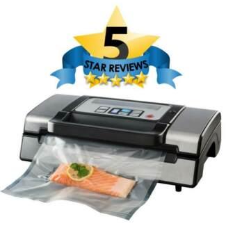 Pro-Line Food Vacuum Sealer - Double Seal - Home & Commercial