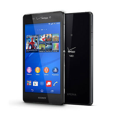 Sony Xperia Z3V D6708 - Verizon Unlocked -  32GB 5.2'' Smartphone Black (US)