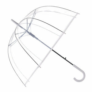 Chic Clear Bubble Birdcage Umbrella ~ Perfect for Weddings!